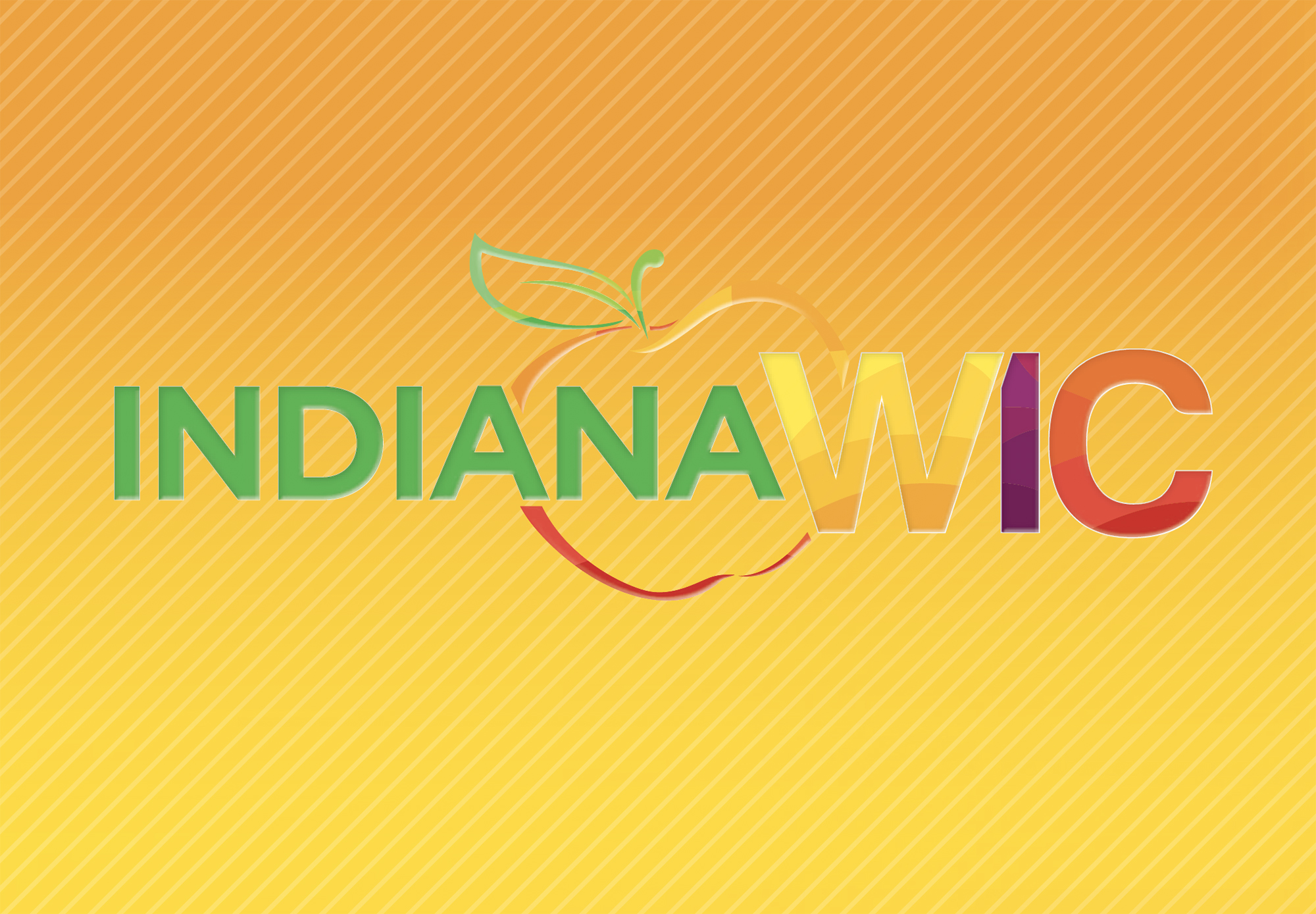 This is a picture of the Indiana WIC logo.