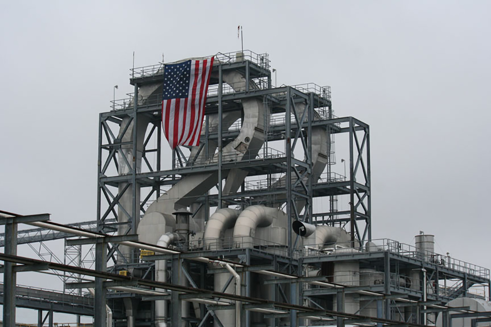 This is a picture of the bioprocessing facility in Cloverdale, Indiana.