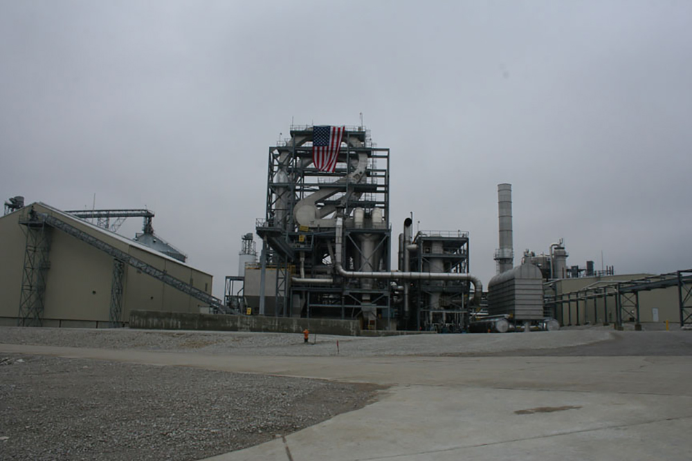 This is an image of the Cloverdale bioprocessing facility.