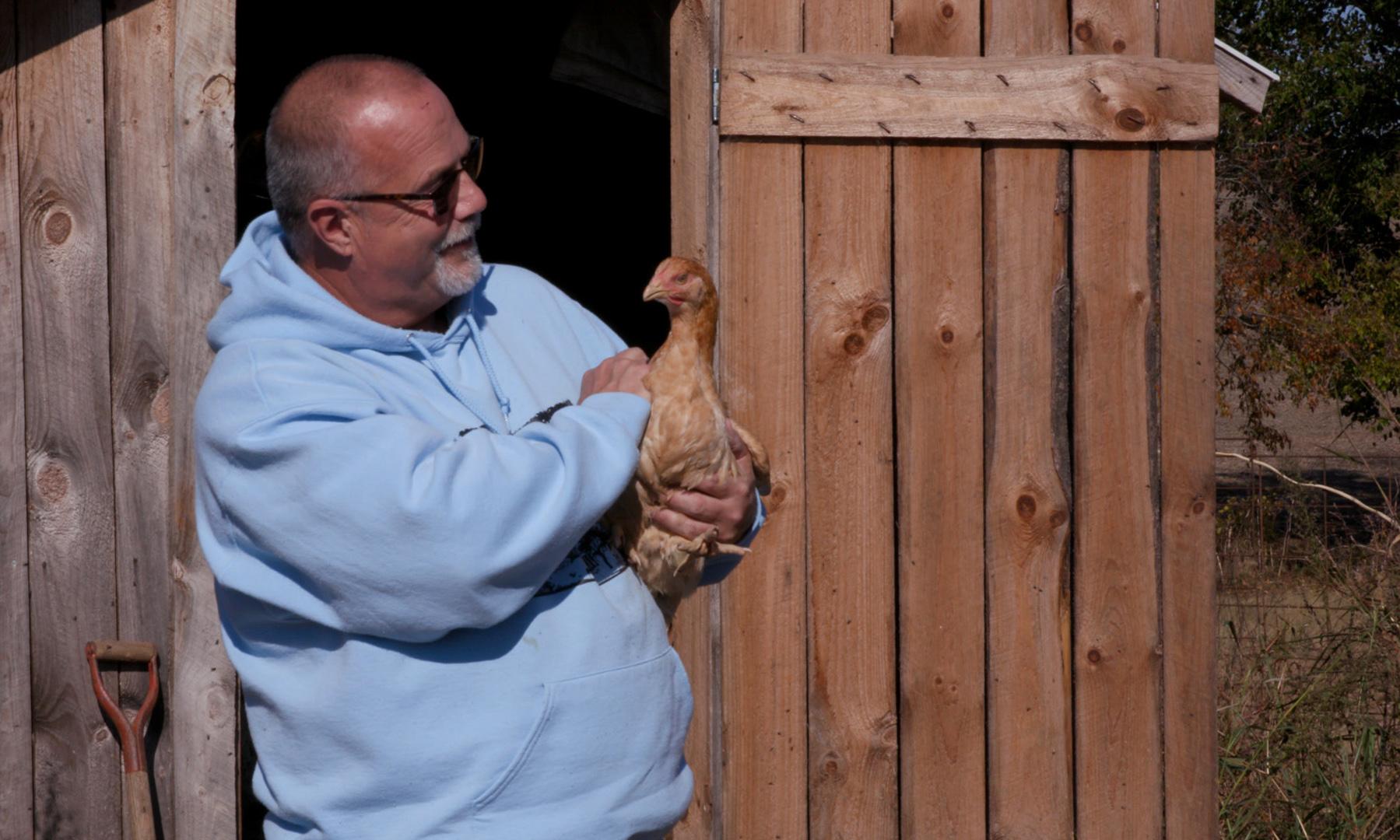 Orleans farmer Pat Hall