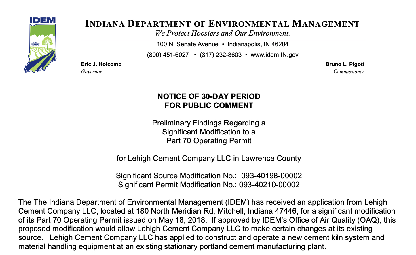 Image of permit application.